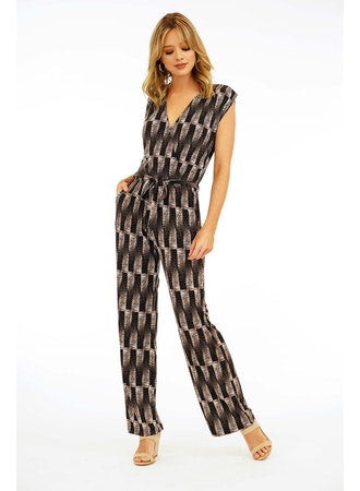 Veronica M | S/L Surplice Jumpsuit
