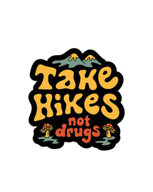Keep Nature Wild | Take Hikes Sticker