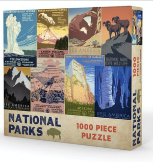 Gibbs Smith | National Parks Puzzle