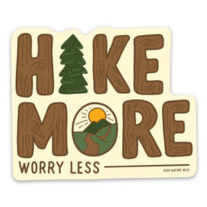 Keep Nature Wild | Hike More Sticker