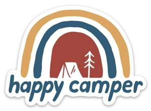 Keep Nature Wild | Happy Camper Sticker