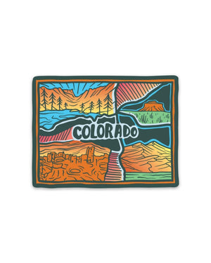 Keep Nature Wild | Colorado Love Sticker