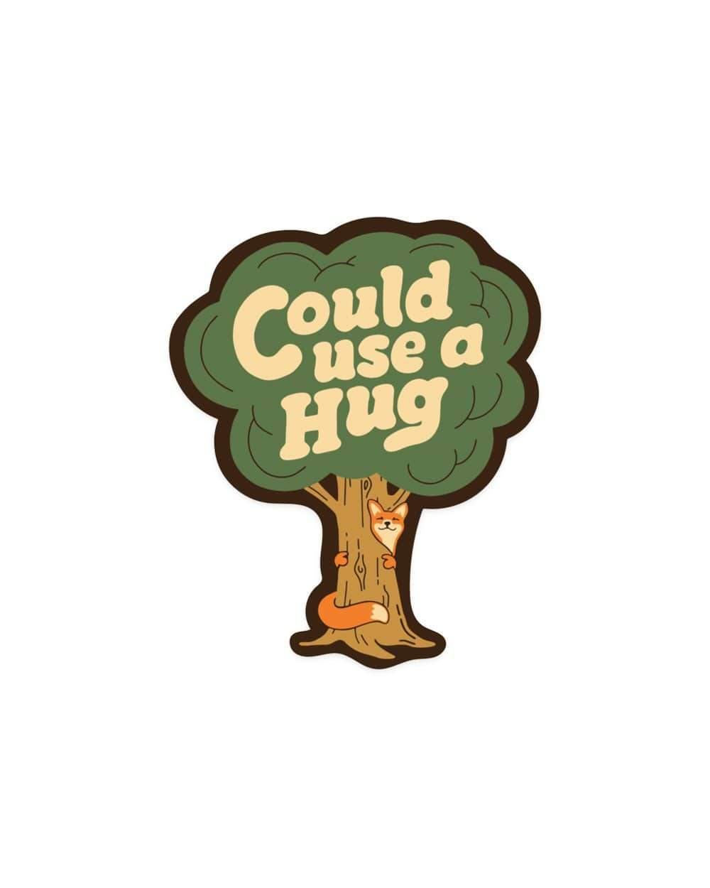 Keep Nature Wild | Could Use a Hug Sticker