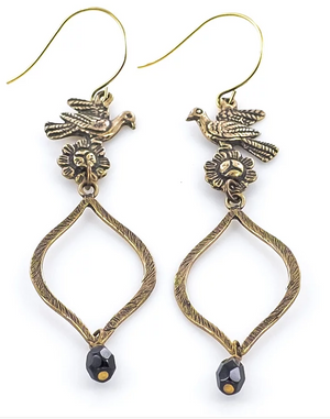 Tara Gasparian | Blackbird Earrings
