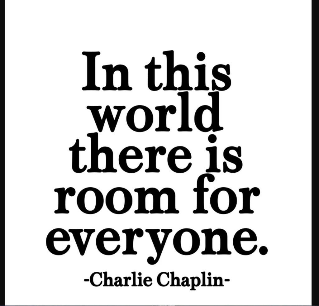 Quotable | Room For Everyone