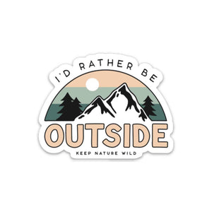 Keep Nature Wild | Be Outside