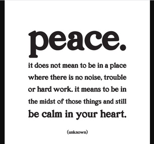 Quotable | Peace