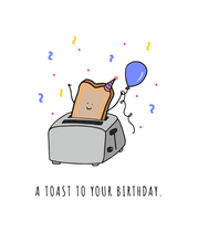 Load image into Gallery viewer, A Toast To Your Birthday