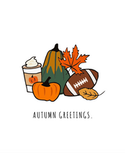 Load image into Gallery viewer, Autumn Greetings