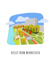 Load image into Gallery viewer, Hello From Minnesota