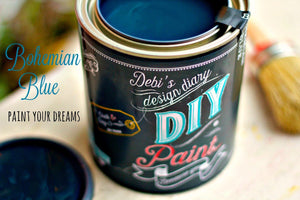 Bohemian Blue DIY Paint @ Ugly Glass & Co.