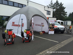 GYBE HUMANITY TENT EMERGENCY - JOHANNITER-UNFALL-HILFE