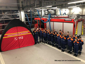 GYBE HUMANITY TENT EMERGENCY - JUGENDFEUERWEHR