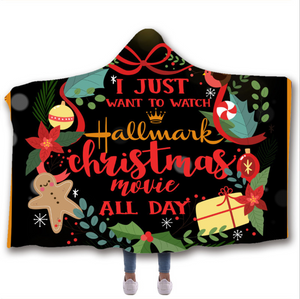Hallmark Christmas Movie Watching Blanket