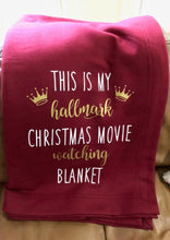 Load image into Gallery viewer, Hallmark Movie Blanket™