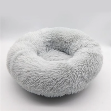 Load image into Gallery viewer, CALMING DOG BED WITH PET ANTI ANXIETY - Light Gray / 27.6 Inches / 70 CM