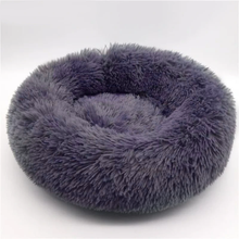 Load image into Gallery viewer, CALMING DOG BED WITH PET ANTI ANXIETY - Extra Quality, Padding, Fur & Comfort!