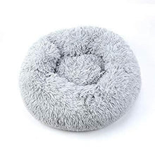 Load image into Gallery viewer, CALMING DOG BED WITH PET ANTI ANXIETY - Light Gray / 39.4 Inches / 100CM