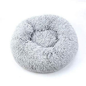 CALMING DOG BED WITH PET ANTI ANXIETY - Light Gray / 39.4 Inches / 100CM