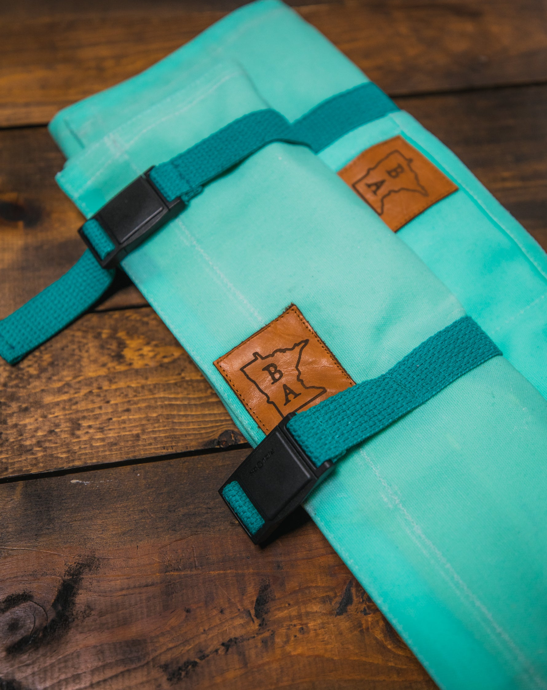 Side Hustle - Light Turquoise - Knife Roll