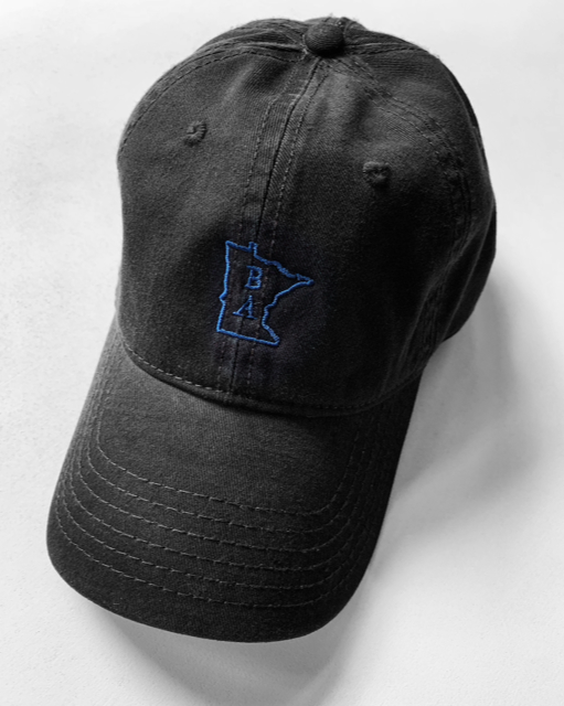 Black and Blue Dad Hat