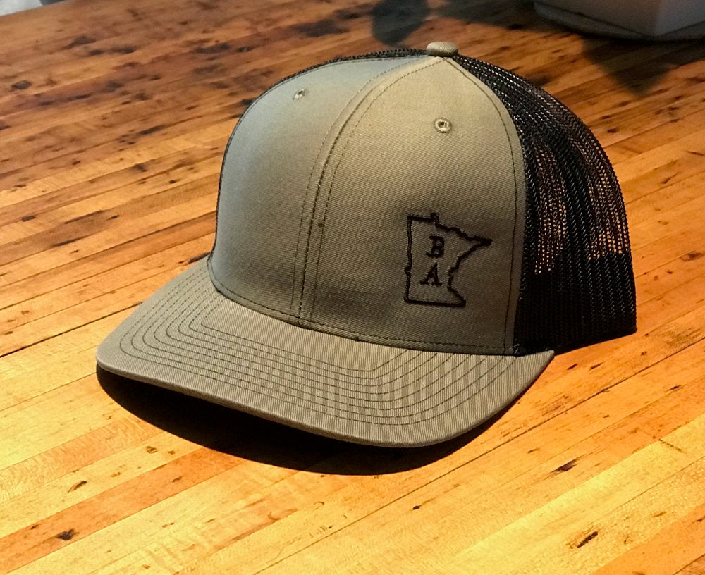 BA Trucker Hat - Loden & Black