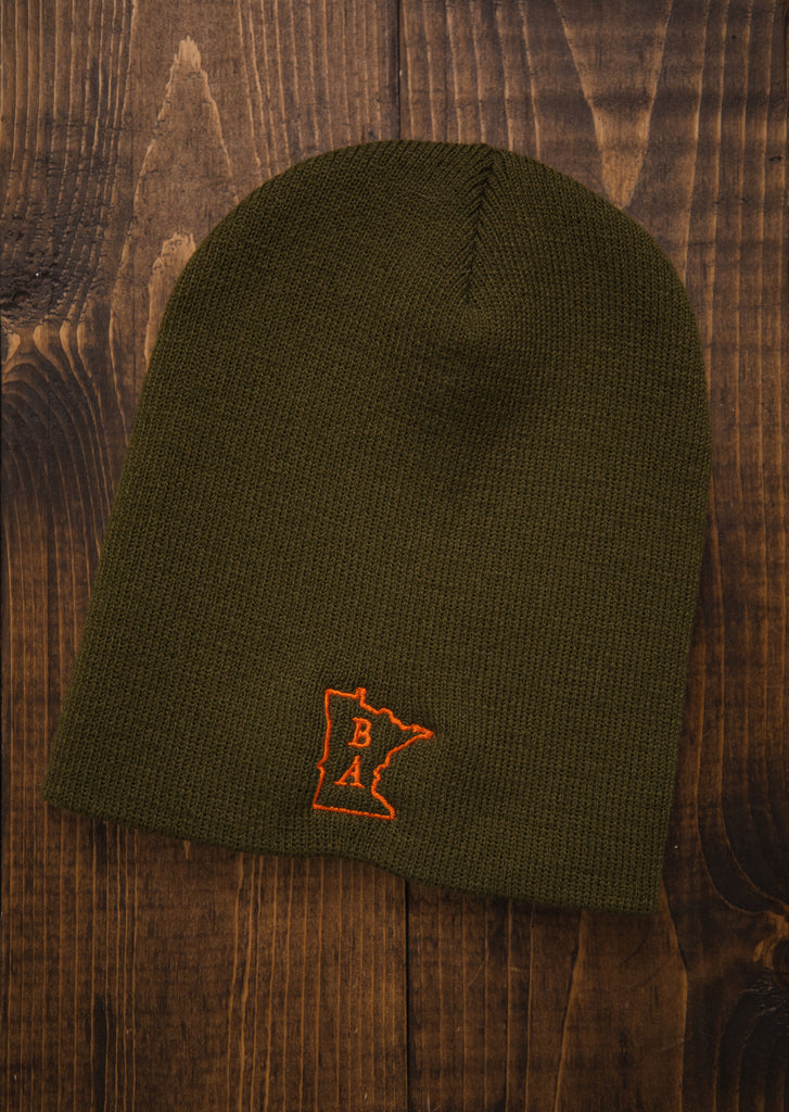 Green & Orange Beanie