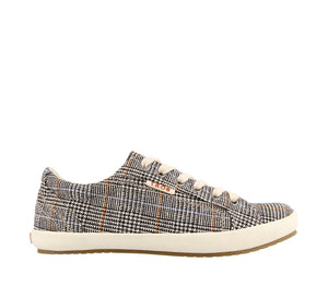 Star Canvas Plaid
