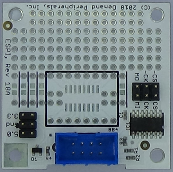 SPI Prototyping Card