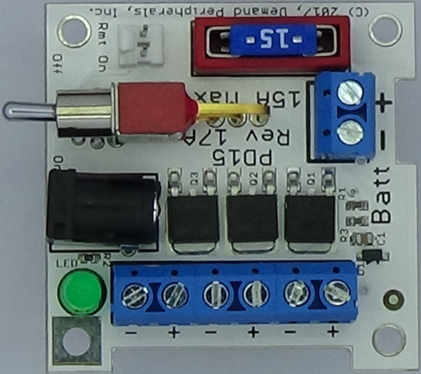15 Amp Power Distribution Card