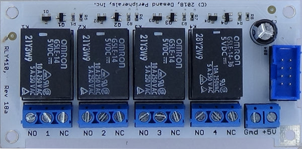 Quad Relay Card