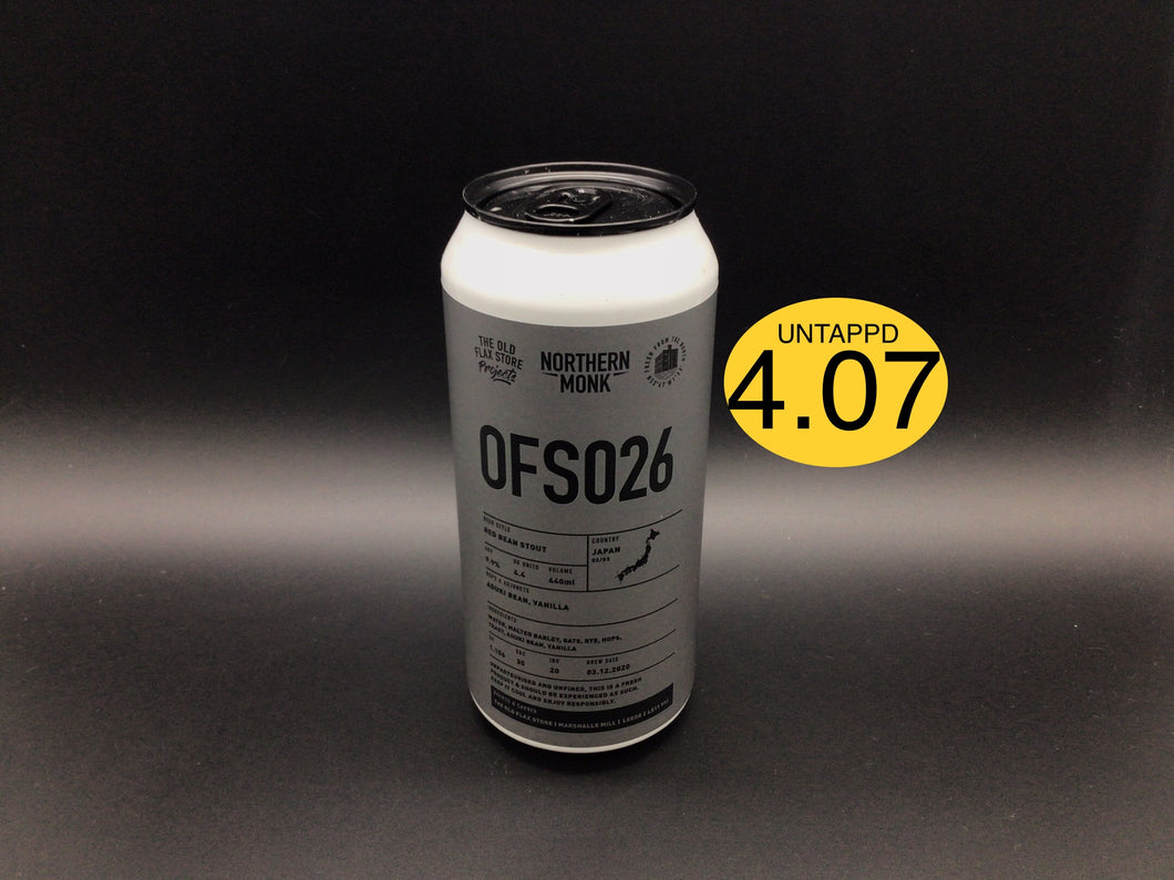 OFS 026 (Northern Monk) Stout
