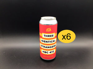 PACK DE 6 THREE IDENTICAL STRANGERS 472