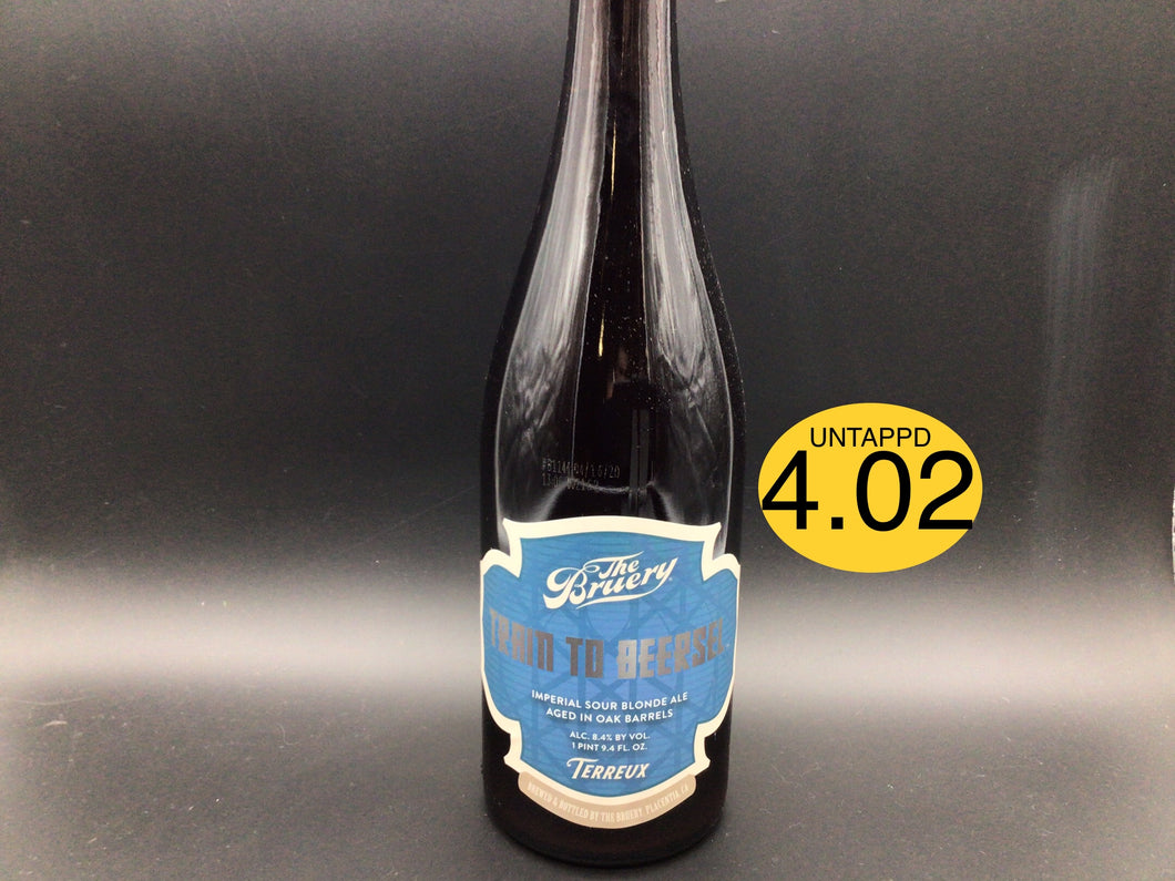 TRAIN TO BEERSEL 2020 (The Bruery Terreux) Wild Ale