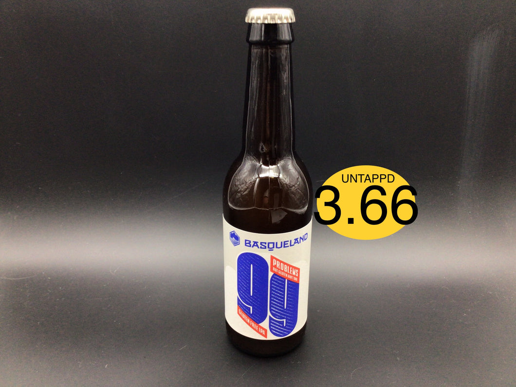 99 PROBLEMS (Basqueland ) GLUTEN FREE IPA