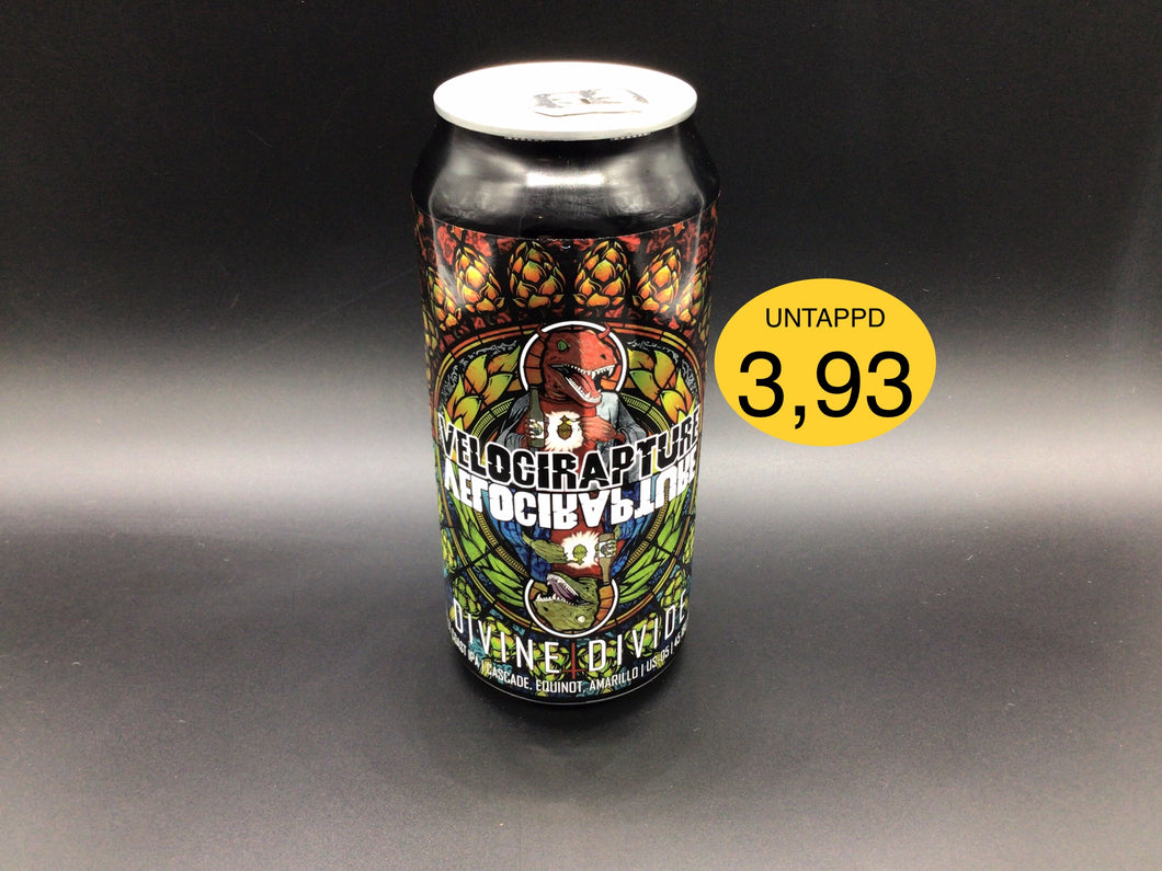 VELOCIRAPTURE DIVINE/DIVIDE WEST COAST (Staggeringly Good) IPA