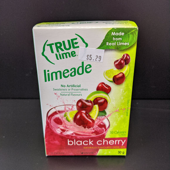 True Lime- Black Cherry Limeade