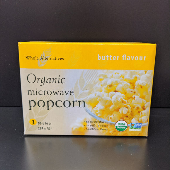 Whole Alternatives- Popcorn- Butter Flavour