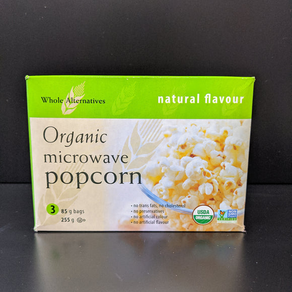 Whole Alternatives- Popcorn- Natural Flavour