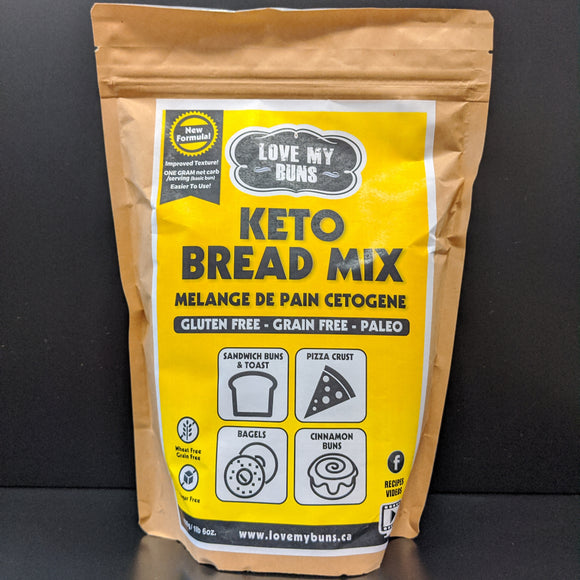 Love My Buns- Keto Bread Mix