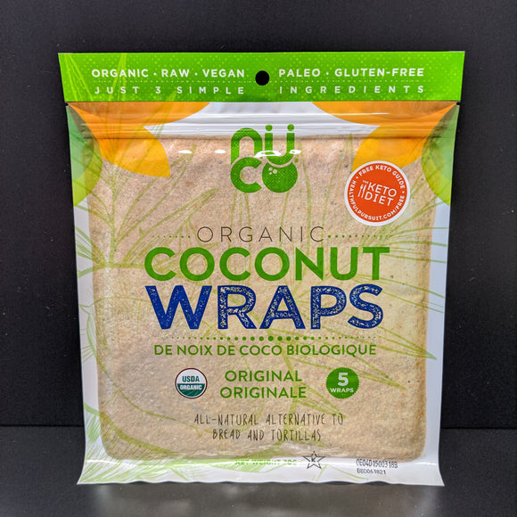 Nuco- Coconut Wrap