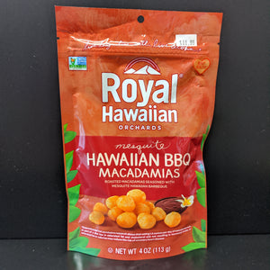 Royal Hawaiian- Macadamia Nuts- BBQ