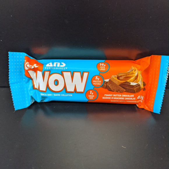 Ans Keto Wow- Bar- Peanut Butter Chocolate