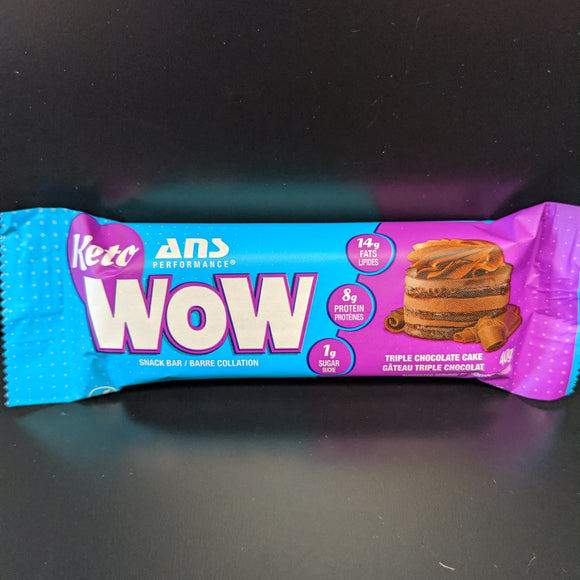 Ans Keto Wow- Bar- Triple Chocolate Cake