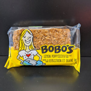 Bobo's- Oat Bar- Lemon Poppy Seed