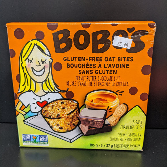 Bobo's- Oat Bites- Peanut Butter Chocolate Chip