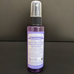 Dr. Bronner's - Hand Sanitizer Spray- Lavender