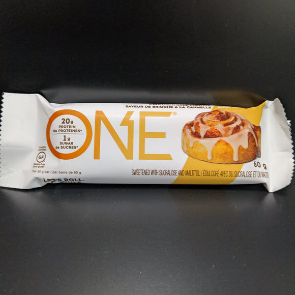One Bar- Cinnamon Roll