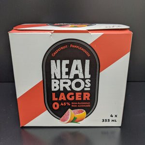Neal Brothers- Non Alcoholic Beer- Grapefruit