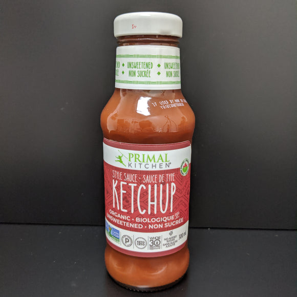 Primal Kitchen- Unsweetened Ketchup